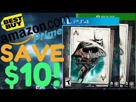Buy Return to Arkham for Only $40! (Amazon Prime & Best Buy)