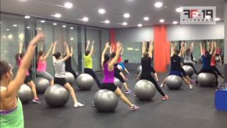 Fitness19 Coreo con Fitball