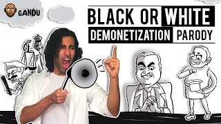 Michael Jackson Black Or White (Demonitization Parody) Feat. Aadar | BollywoodGandu