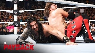 AJ Styles vs. Roman Reigns – WWE World Heavyweight Titel Match: WWE Payback 2016 auf WWE Network