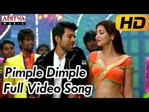 Xxx Mp4 Pimple Dimple Full Video Song Yevadu Video Songs Ram Charan Shruti Hassan 3gp Sex