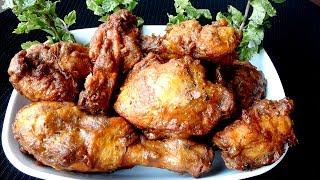 চিকেন ফ্রাই বা ফ্রাইড চিকেন রেসিপি | Fried Chicken Kebab Recipe | Spicy Indian Chicken Fry Recipe