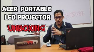 Unboxing the ACER  PORTABLE LED PROJECTOR
