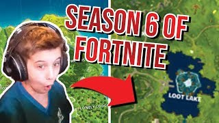 Season 6 of Fortnite is Here!! Taking a look at the new Changes!