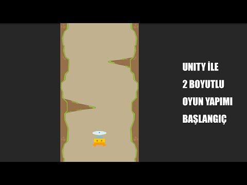 3) Unity 3D Dersleri - 2 boyutlu oyun yapımına başlangıç