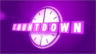 Countdown  Intro | Premium &  Exclusive HD Quality Countdown  Intro Video Free Download