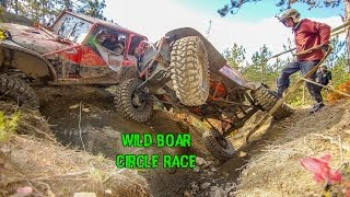 Wild Boar Valley Challenge 2015 - Circle Race. Non-stop 4x4 Action!