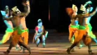 Chhau Dance by . KONARK NATYA MANDAP