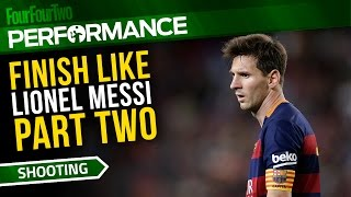 How to play like Lionel Messi | Part Two | Soccer dribbling drill