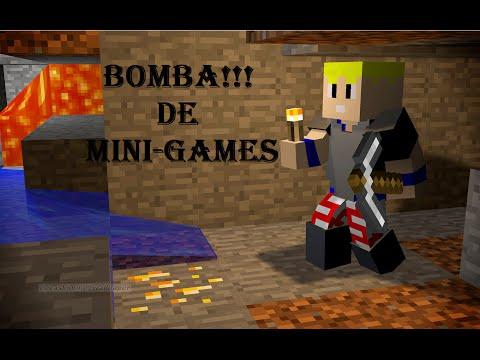 BOMBA DE MINIGAMES!!! #1/ SKY WARS/HIDE AND SEEK/SUPER CRAFT BROS