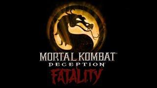 Mortal Kombat Deception All Fatalities / Hara-Kiri - HD