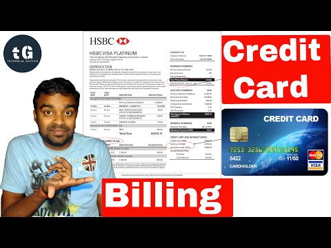 Credit Card Billing Cycle | How Credit Card Billing Cycle works | Technical Guptaji