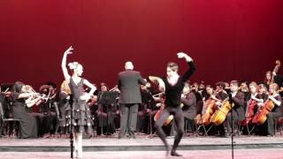 "Las Vegas Academy Winter Concert 2016 - ""Chocolate"" (Spanish Dance)"