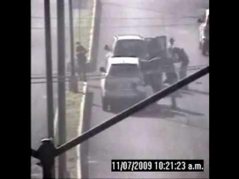 Videograbación de ataque a fuerzas federales en Michoacán