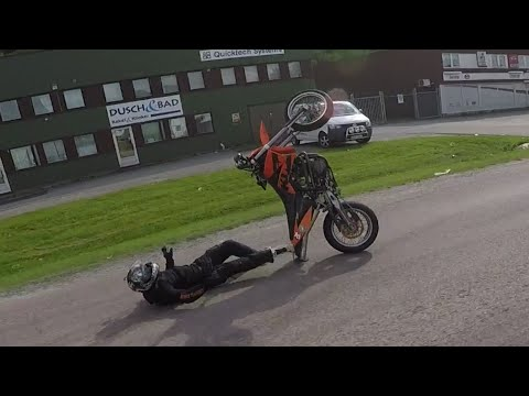 Supermotard Wheelie CRASHFAIL Compilation - NTKlife