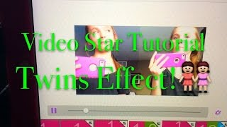 Video Star Tutorial: Twins Effects & How To Get The Song