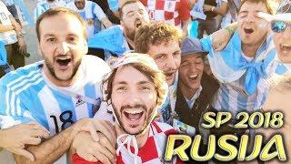 OTIŠAO SAM NA SVJETSKO PRVENSTVO U RUSIJU!! Vlog Hrvatska - Argentina FIFA World Cup 2018