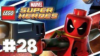 LEGO Marvel Superheroes - LEGO BRICK ADVENTURES - Part 28 - CapsiCab! (HD Gameplay Walkthrough)