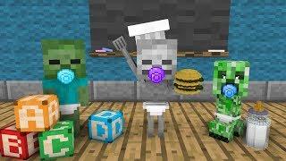 BABY Monster School - Minecraft Animation