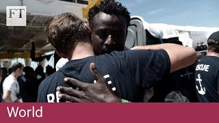 Migrant boats turned away by Italy arrive in Spain