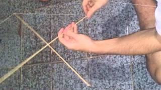 Como fazer armação pipa