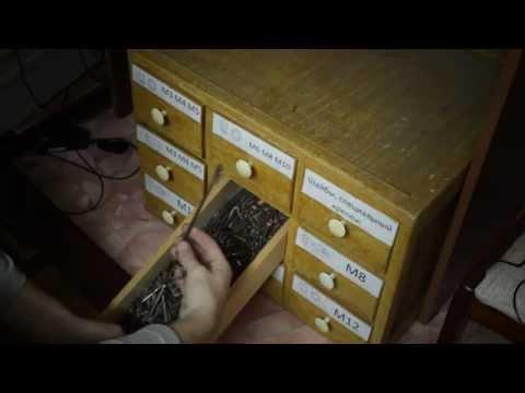 Ящик для саморезов и гвоздей своими руками 45