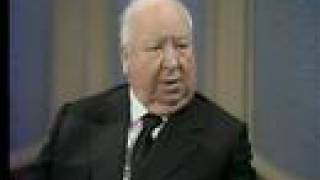 Alfred Hitchcock was confused by a laxative commercial