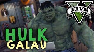 GTA 5 PC Mod - HULK GALAU !! - Bahasa Indonesia (Engga Lucu + Ngakak)