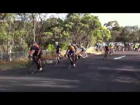 Small Crash Hawthorn Cycle Club Crit Tear Drop 4/12/2013