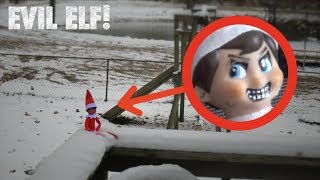 EVIL ELF ON THE SHELF IN REAL LIFE *He Disappears!*