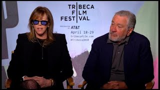 Jane Rosenthal and Robert De Niro preview the 2018 Tribeca Film Festival