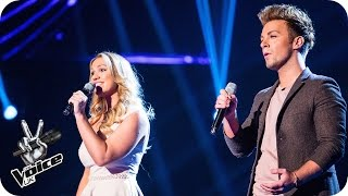 Scott & Vicki perform 'Fascination' - The Voice UK 2016: Blind Auditions 6