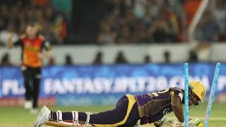 Mustafiz Bowlled Andre Russell in IPL 2016 HD