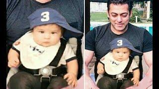 Salman Khan With Taimur Ali Khan