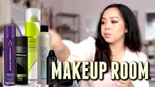 FINALLY Cleaning out my Makeup Room! - itsjudyslife