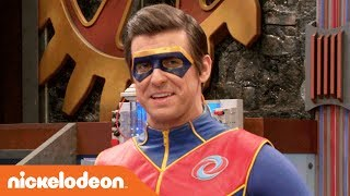 Captain Man Tries Out New Catchphrases w/ Charlotte | Henry Danger | Nick