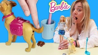Barbie Oyuncak Bebek Köpeğiyle Tuvalet Eğitiminde   Oyuncak Tanıtımı   Oyuncak Butiğim