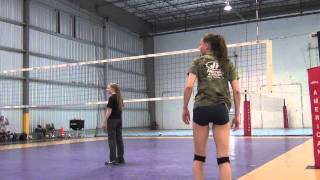 Nadia Torkman Volleyball Practice Video
