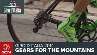 How The Pros Choose Gears For The Mountains | Giro D'Italia 2014