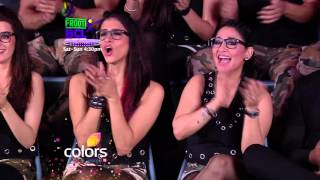 Bani J shows off her Abs on Frooti BCL