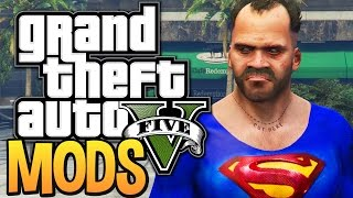 GTA 5 - WHEN MODDING GOES WRONG (GTA 5 Funny Moments w/ Mods)