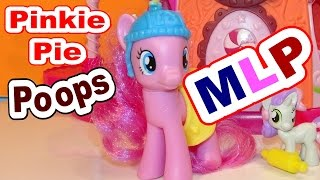 Pinkie Pie POOPS with Lego Pony POOP Patrol and My Little Pony By Top YouTube Channel for Kids