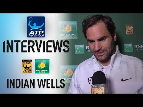 Xxx Mp4 Federer Previews Coric SF In Indian Wells 2018 3gp Sex