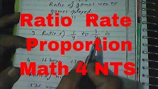 ratio,rate,proportion Quantitative NTS HEC ETS, Latest Mathematics MCQ Solved ,GAT NAT HAT, [Urdu]