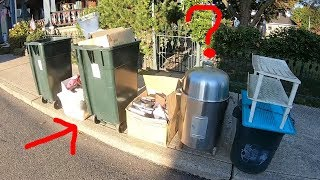 WHY WOULD THEY THROW THIS AWAY? Trash Picking Ep. 194