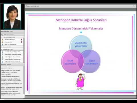 HİK Kadın Sağlığı Platformu Webinarı 08: Menopoz Dönemi Sağlık Sorunları
