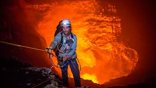Expedition to the Heart of an Active Volcano | 360° Video