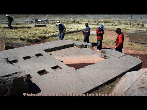 Puma Punku Tiahuanaco Bolivia las piedras imposibles HD