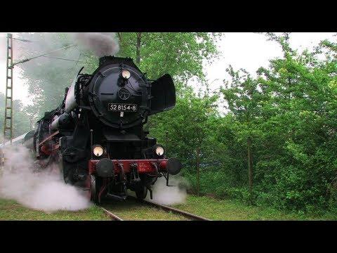 Eisenbahnen zwischen Erzgebirge und Rügen 2 4 Steam Trains Züge Dampfloks