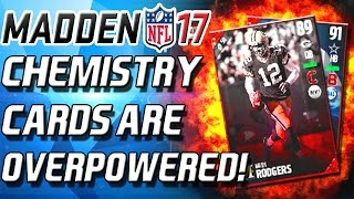 NEW CHEMESTRY CARDS ARE OP! BEST CARDS IN THE GAME! - Madden 17 Ultimate Team